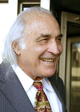 Lawyer J. Tony Serra. Photo by Nicholas Wilson